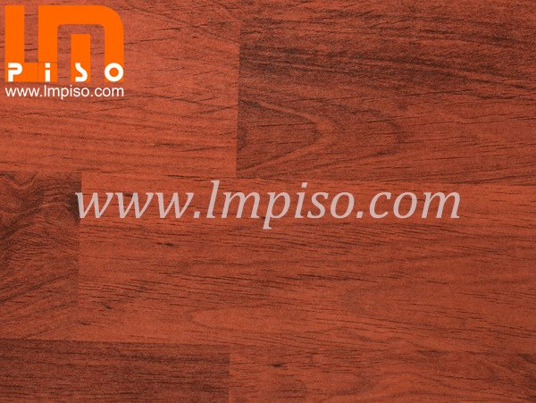 Deep embossed sound resistant french applewood laminate flooring