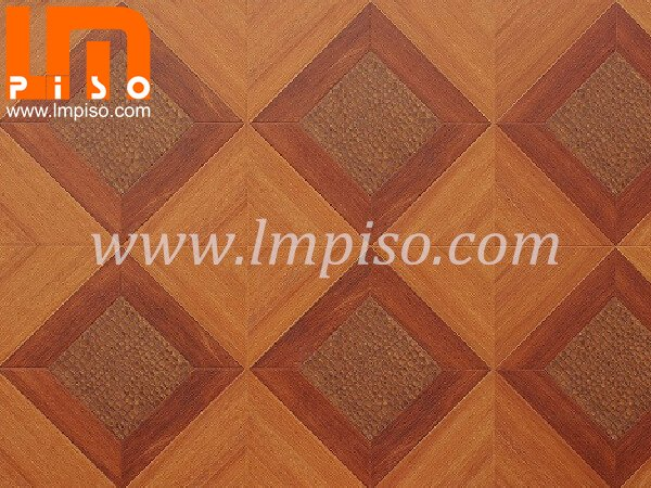 AC4 antistatic CE qualified artistic parquet laminate floor