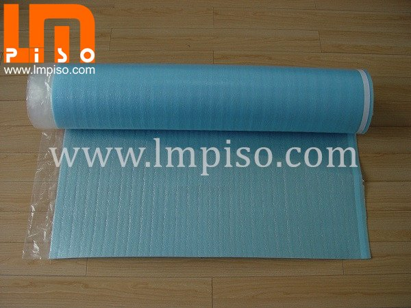 2mm EPE foam one side with 0.02mm PE film Underlay for lamina