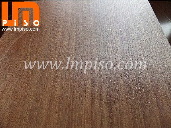 850kg/m3 density white core board teak small embossed laminat