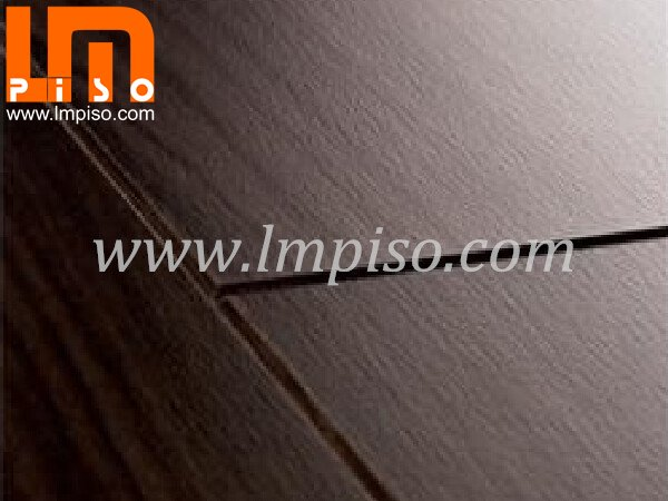 Embossment finish unilin clic beveled edges v groove laminate flooring
