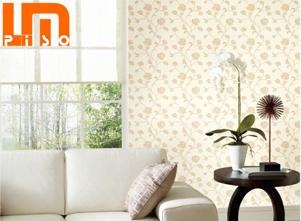 2014 new designs cheap pvc vinly interior wallpapers