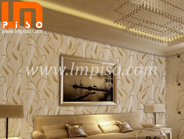 2014 NEW style PVC foaming wallpaper /beautiful design wall