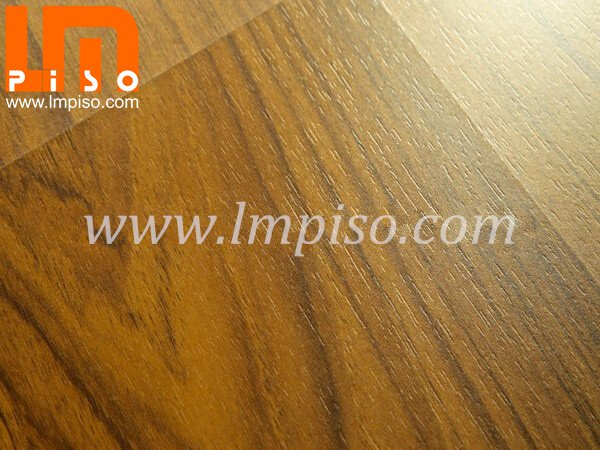 High quality squared edges cherry wood crystal laminate floor