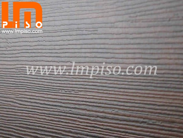 Domestic waxed esay lock teak wood texture finish laminate fl