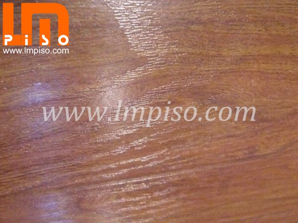competitive price for wenge color real wood grain laminate flooring