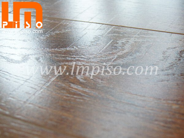Anti termite beveled v groove E0 EIR surface laminate floorin
