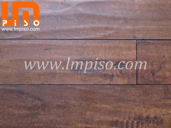 High traffic class32 moistureproof handscraped surface laminate flooring