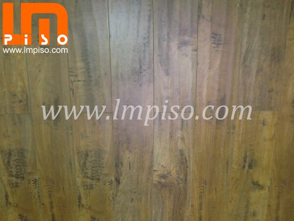 High quality comply with EN13329 ancient handscraped laminate flooring