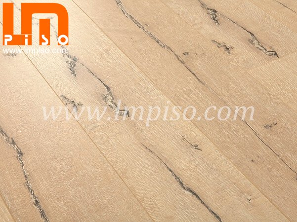 Rustic style waterproof crack stone laminated floors for offi