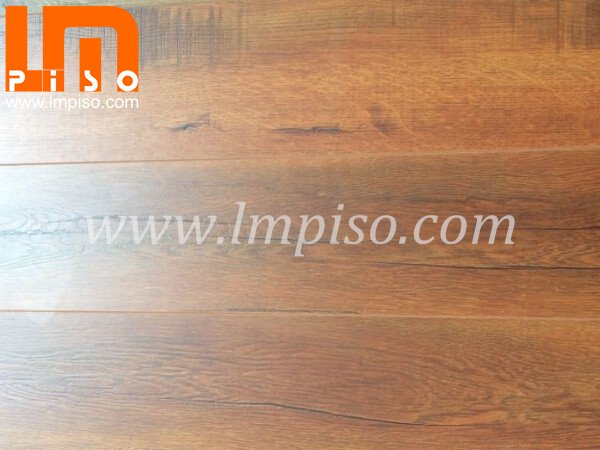 Good price for natrue style merbau color cutting stone laminate flooring