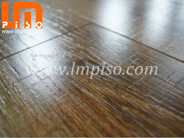 Class 32 ac4 shinning antistatic cutting stone laminate flooring