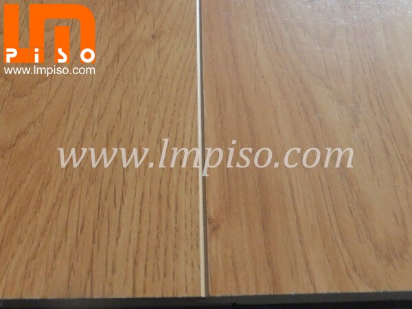 Smooth finish unilin click joint beveled painted v groove laminate flooring