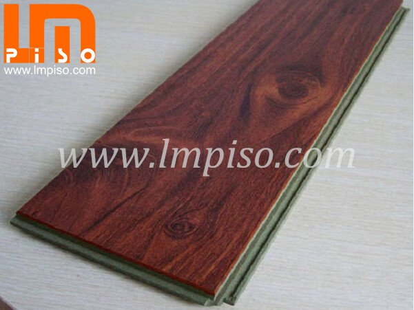 Competitive price artistic green core laminate flooring for A
