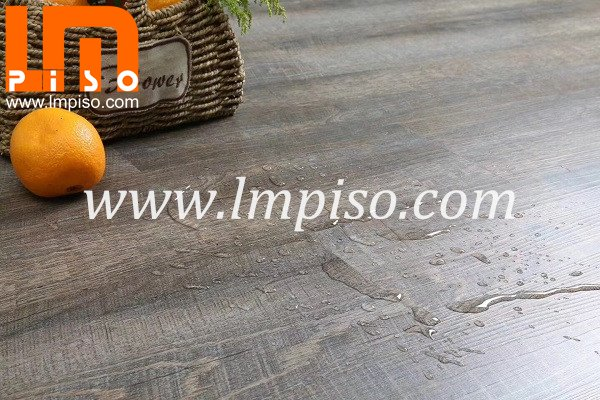 Hot sale grey virgin material SPC plank waterproof LVT floor