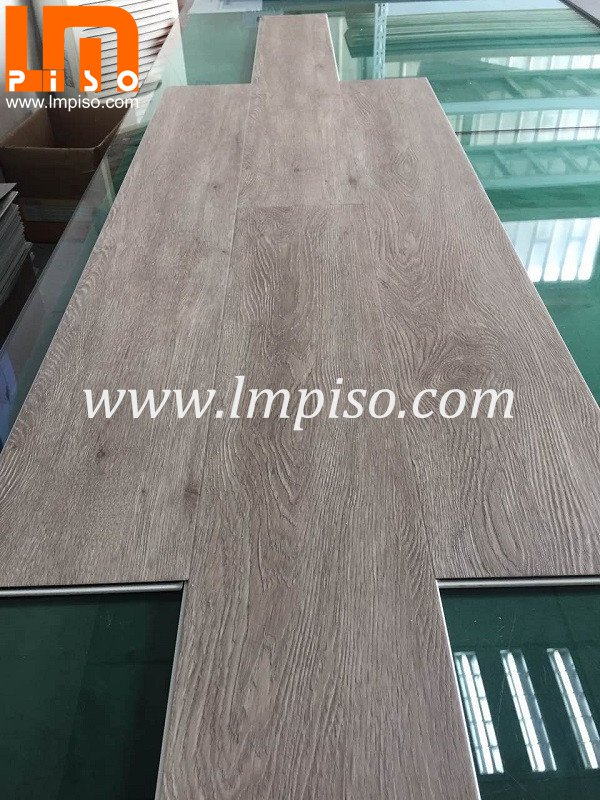 High quality 4.2 mm Ash Oak matt finish SPC vinyl plank plast